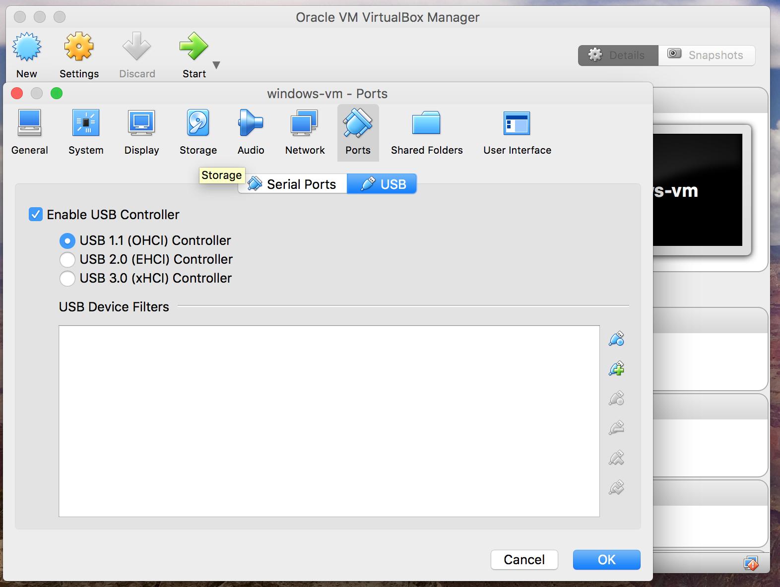 Как сделать снапшоты в virtualbox